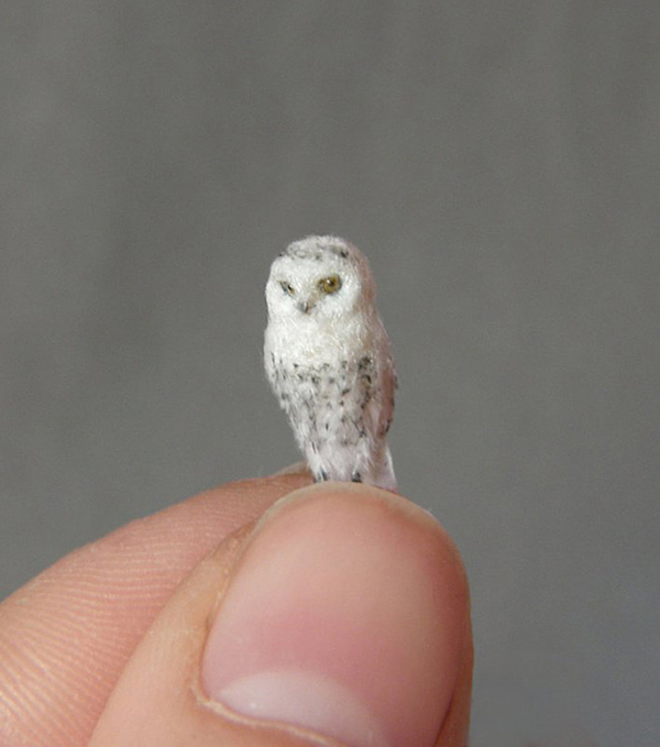 Anya Stone's Incredibly Lifelike Miniature Sculptures Of Birds