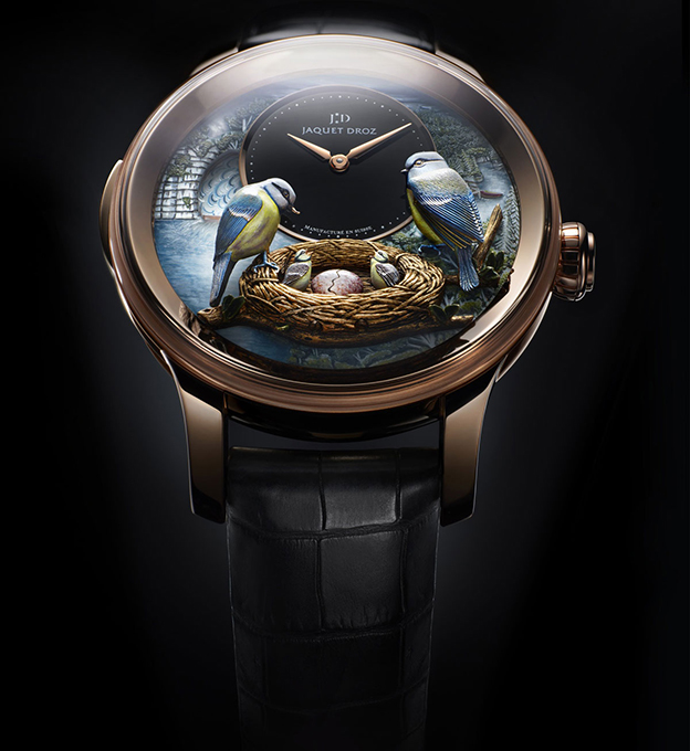 The Unbelievably Stunning Bird Repeater Watch By Jaquet Droz