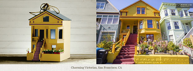 AirBnB Replicates Some Its Most Charming Homes As Birdhouses
