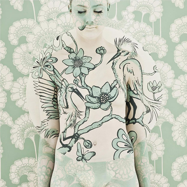 Emma Hack's Intricate Body Paintings Of Birds