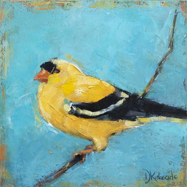 Deb Kirkeeide's Expressive Paintings Of Birds