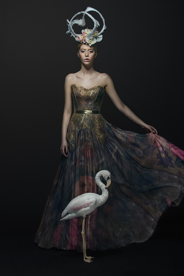 Couture And Taxidermy: Stunning Avian Inspired Editorial For Papercut Magazine