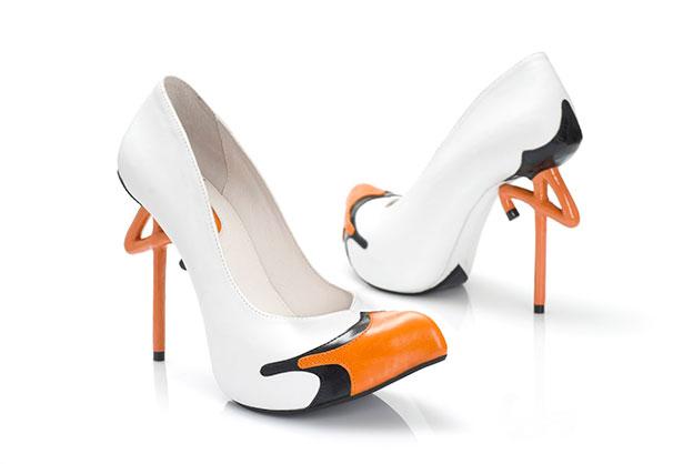 Kobi Levi Bird Footwear Art