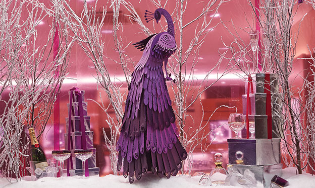 Mappin & Webb Christmas Windows By The Makerie Studio
