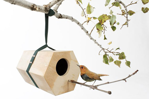 NeighBirds Modular Birdhouses For Expanding Bird Families