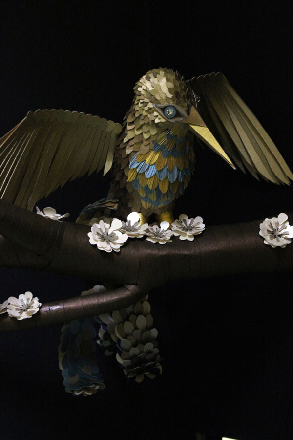 Simply Stunning Paper Paradise Bird By Julia Froehlich