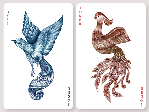 Fine Art Playing Cards Inspired By Birds From Around The World