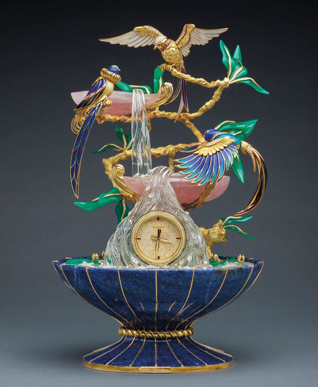 Patek Philippe 'The Birds Of Paradise Fountain Clock'