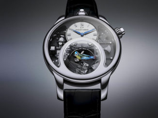 The Simply Breathtaking Charming Bird Watch By Jaquet Droz