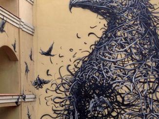 DALeast's New Mural For Maus Malaga In Malaga, Spain