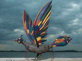 Storm Thorgerson's Musical Bird For Pendulum