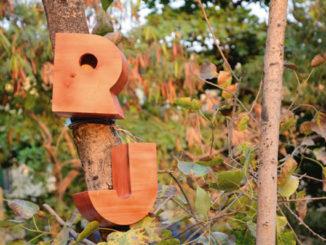 Typographical Birdhouses By Designer Nishant Jethi